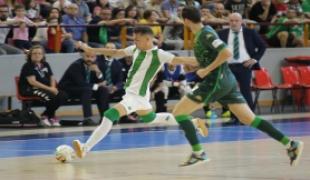 7d6474b08 El Córdoba CF Futsal, de menos a más, cae ante el Betis Futsal en el primer  duelo de play-off de ascenso a 1ª División. Los blanquiverdes, en un Vista  ...